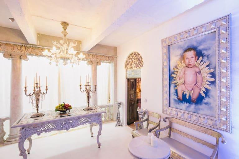 suite baroque decor exceptionnel loft baroque paolo calia anniversaire milliardaire indien agence wato we are the oracle evenementiel events