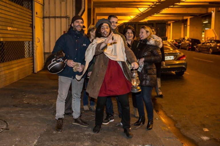 theatre immersif guillaume yosello paris france soiree de lancement de produit serie kaboul kitchen saison 3 canal + agence wato we are the oracle events