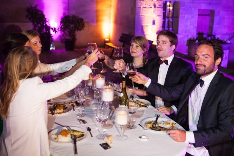vin repas assis chef Matthieu Housse Musée Cognacq Jay Paris France diner volants My little Paris agence wato we are the oracle evenementiel events