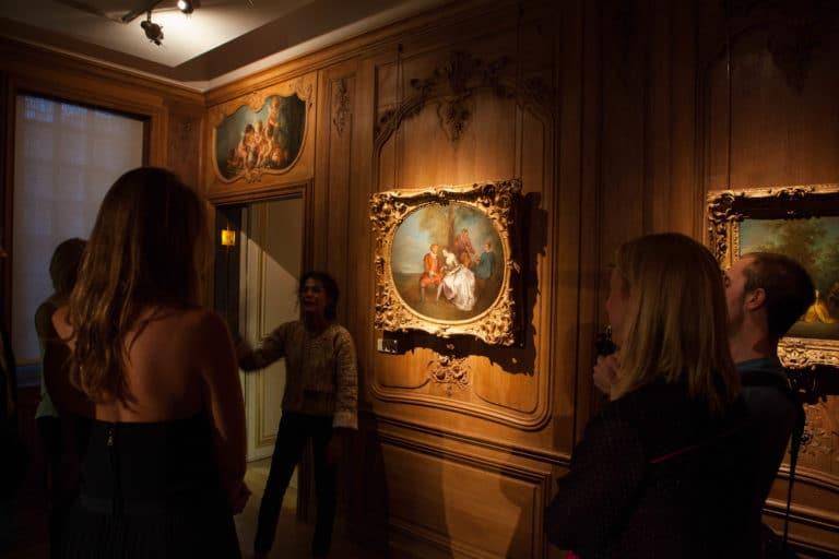 visite privée Musée Cognacq Jay Paris France diner volants My little Paris agence wato we are the oracle evenementiel events