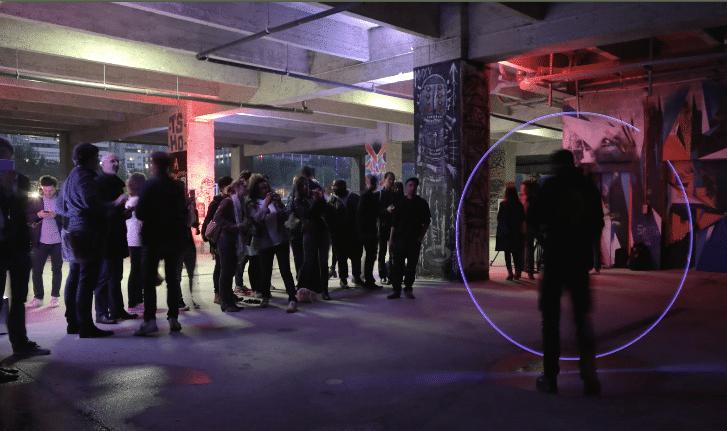 lancement huawei p8 wato-agence-evenementielle-huawei-lightpainting