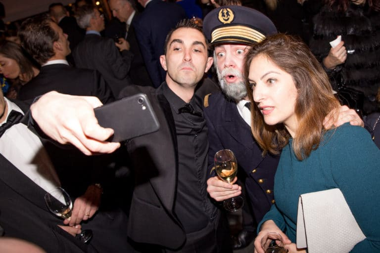 foulques jubert capitaine commandant diner de gala paquebot titanic paris france evenement sur mesure gala annuel les clefs d or  association agence wato we are the oracle evenementiel events
