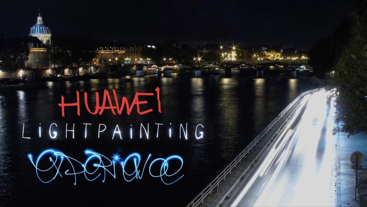 Huawei : Teaser #LightUpP8ris