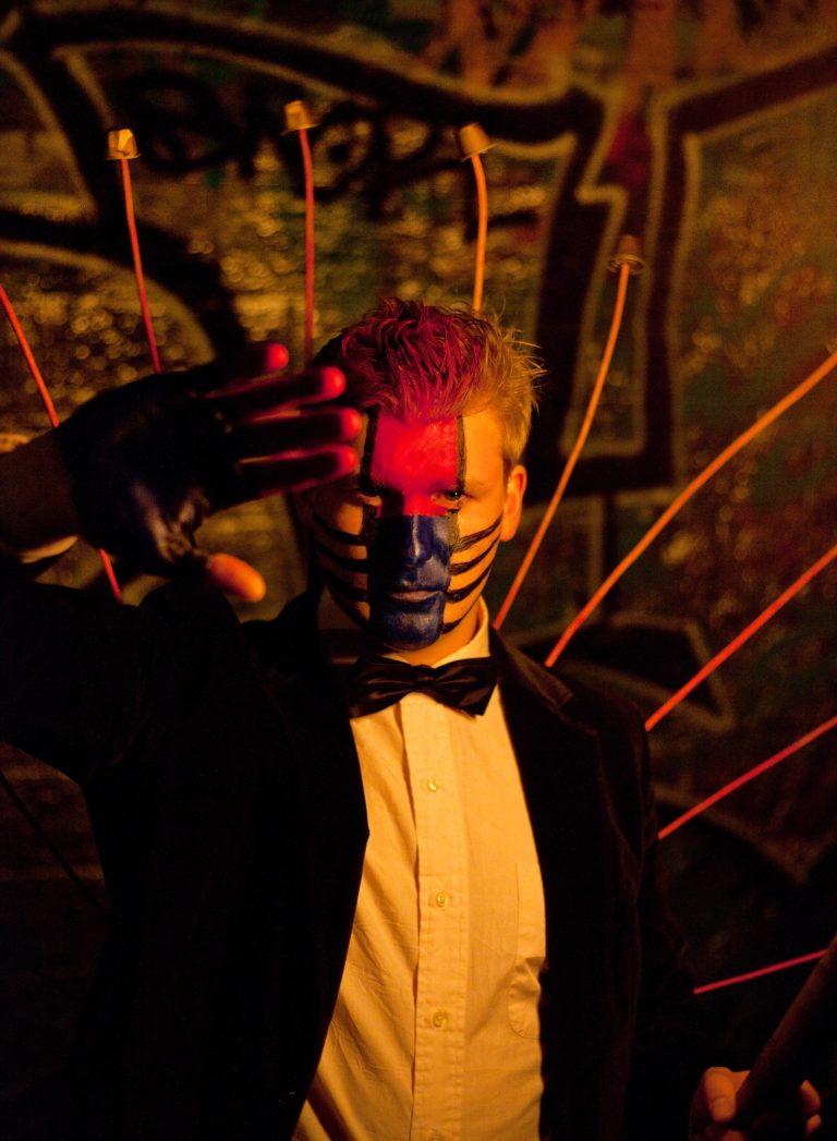 costumes urbex exploration urbaine petite ceinture ancienne gare de Montrouge Paris france soirée publique WATO The Urban Tribe Dinner agence wato we are the oracle evenementiel events