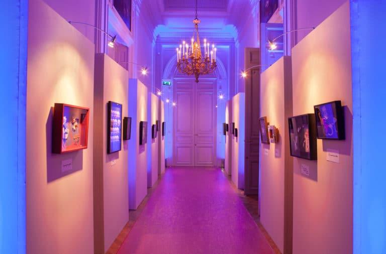 exposition l art sympa Patrick Wajsmann directeur de la Revue Politique Internationale hotel Salomon de Rotchield agence wato we are the oracle evenementiel event