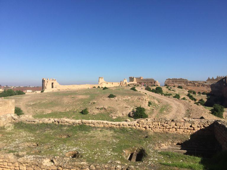 Remparts Kasbah Boulaouane el jadida Maroc horizon