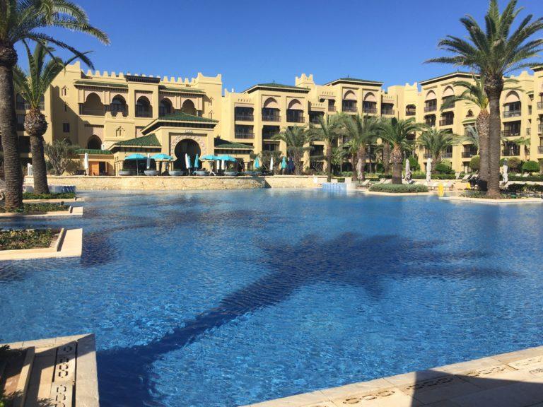 hotel el mazagan piscine el jadida maroc
