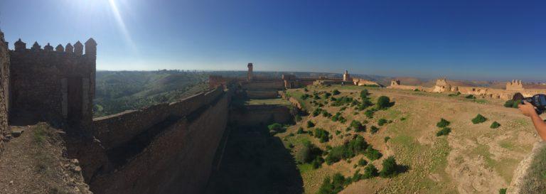 kasbah boulaouane el jadida maroc remparts interieur