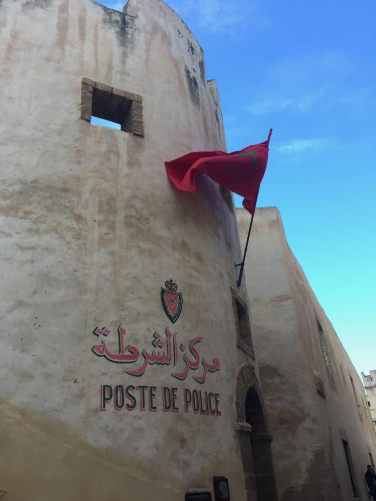 poste de police el jadida maroc