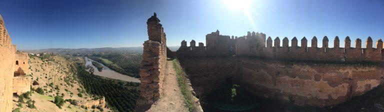 remparts kasbah boulaouane riviere panorama el jadida Maroc