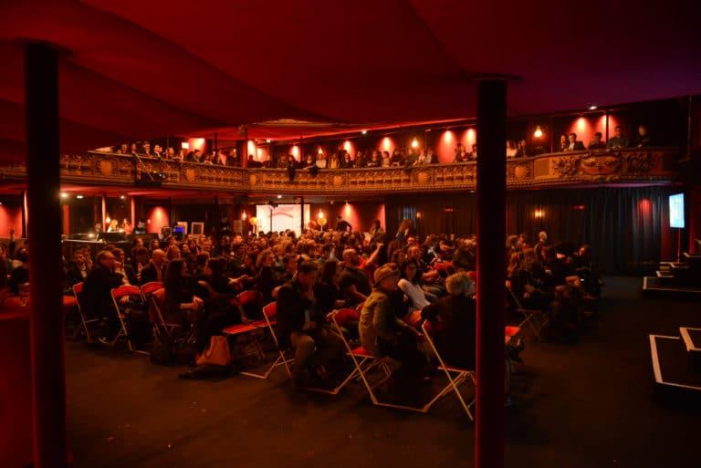 trianon theatre paris france soiree coporate scenographie personnalisee evenement sur mesure bva circus agence wato we are the oracle evenementiel event
