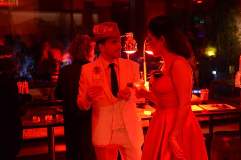 foulques jubert la dandizette acteur soiree intime immersive evenement sur mesure prohibition the hemingway club marriott international agence wato we are the oracle evenementiel events