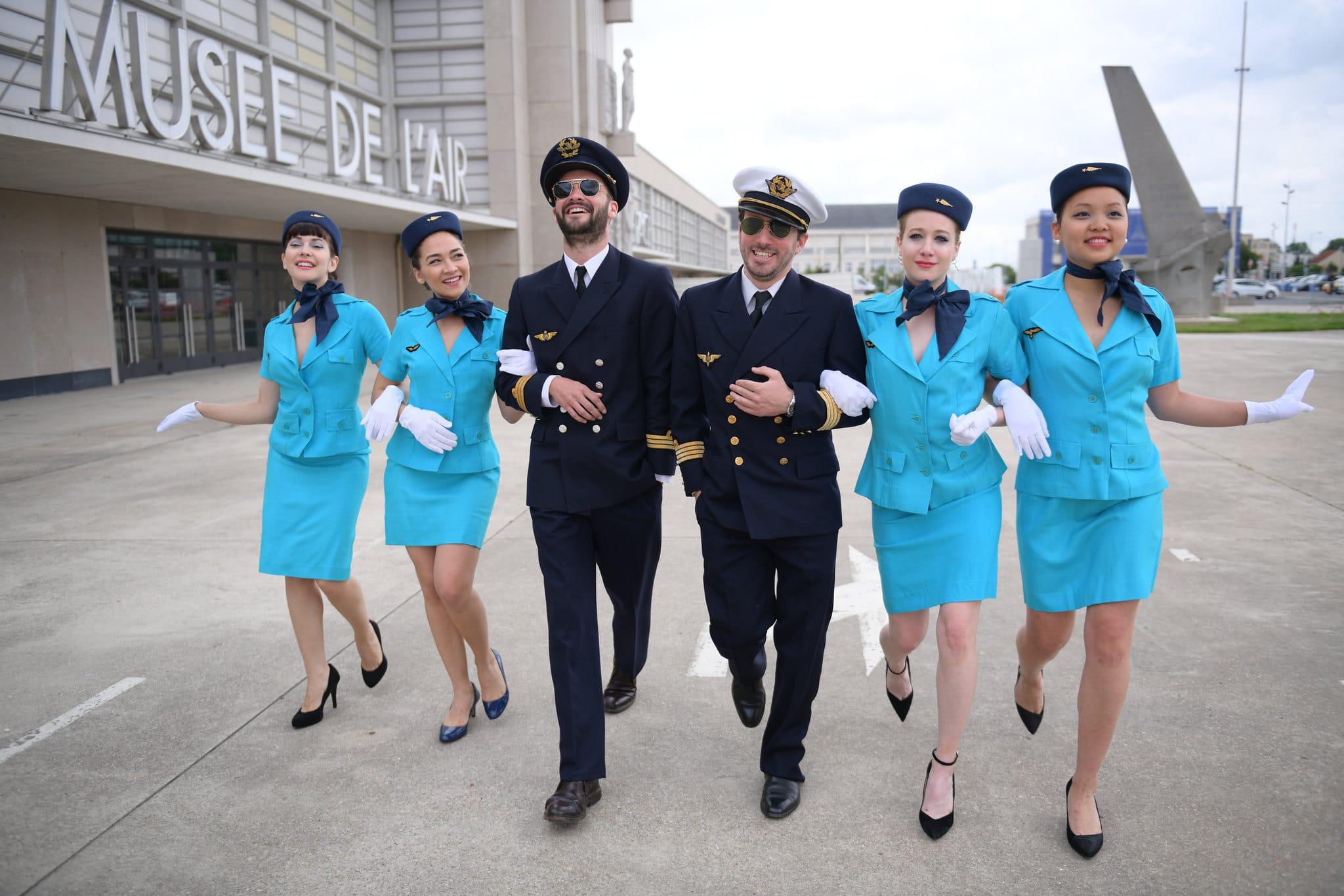 Kymono Airlines – Teaser thème aéroport vintage