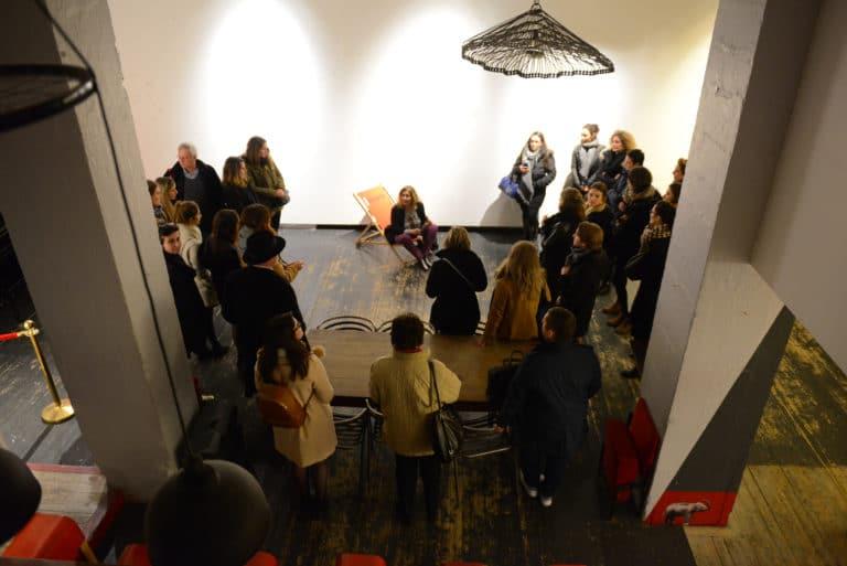 Human n partners visite guidée galerie art insolite équipe team agence wato paris soirée event corporate evenementiel