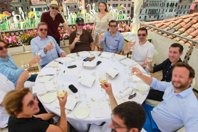 dejeuner-rooftop-hotel-venise-seminaire-venise-italie