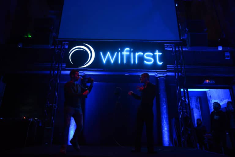 discours speech 15 ans wifirst cafe A paris soiree corporate futuriste evenement sur mesure bollore odysee connectee wifirst agence wato we are the oracle evenementiel event