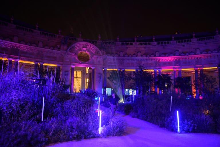 eclairage nocture jardin interieur petit palais tao prestige conciergerie de luxe 10 ans jardin petit palais paris france agence wato we are the oracle evenementiel event