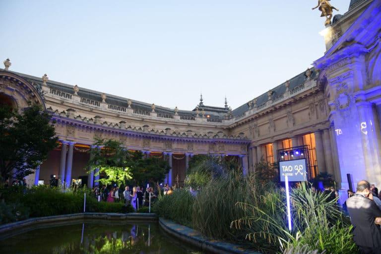 evenement sur mesure tao prestige conciergerie de luxe 10 ans jardin petit palais paris france agence wato we are the oracle evenementiel event
