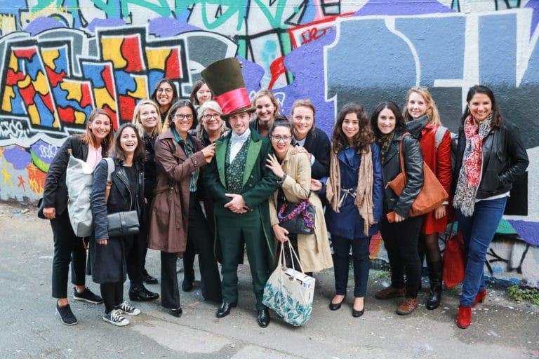 foulques jubert murs de grafittis experience immersive lieu mysterieux paris france agence 4 people client leboncoin agence wato we are the oracle evenementiel event