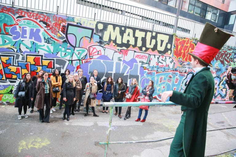 foulques jubert murs de grafittis experience immersive lieu mysterieux paris france agence 4 people client leboncoin agence wato we are the oracle evenementiel events