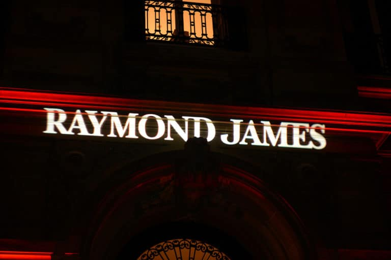 gobo raymond james logo hotel particulier paris france soiree corporate agence wato we are th oracle evenementiel events