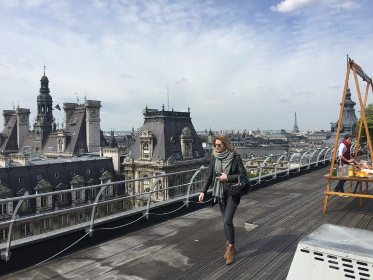 paris evenementiel decleor wato we are the oracle rooftop bhv hotel de ville hyomi legendre