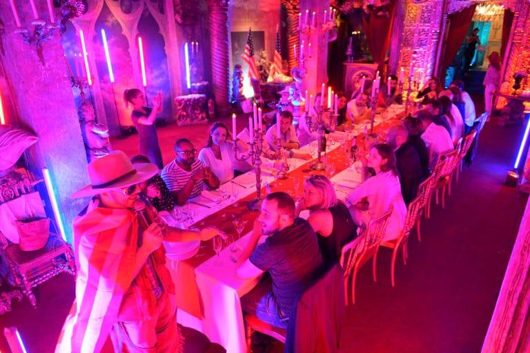 Foulques Jubert décoration usa diner loft baroque paolo calia paris 19e arrondissement france diner leboncoin thème usa américain agence wato we are the oracle evenementiel events