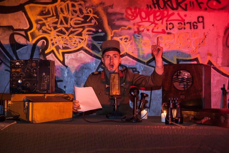 Grégoire Desrousseaux poste radio espion bunker Abri Lefebvre abri anti atomique paris 15 arrondissement France teaser Victorious Shelter agence wato we are the oracle evenementiel