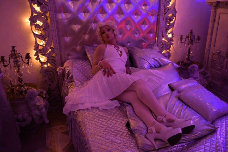 Sylvain Espagnol Marylin Monroe loft baroque paolo calia paris 19e arrondissement france diner leboncoin thème usa américain agence wato we are the oracle evenementiel event