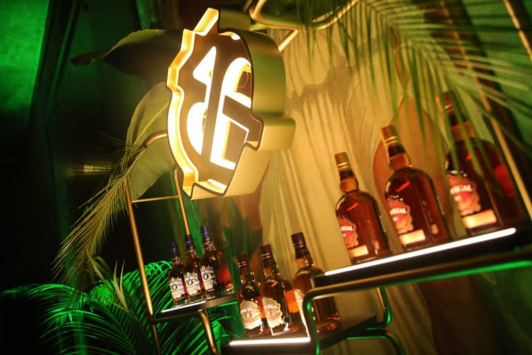 activation chivas whisky bar product launch palais de la porte doree the family the phoenix temple theme jungle evenement sur mesure agence wato we are the oracle evenementiel event