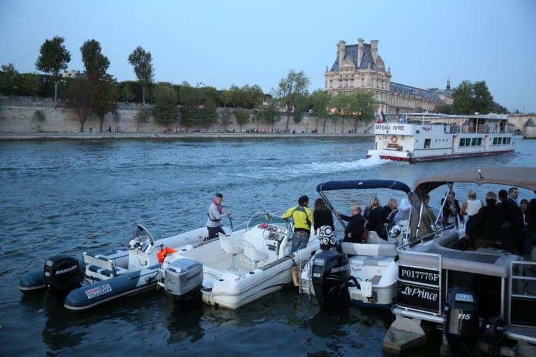 bateaux privatisation seine jardin tuileries quai Anatole France paris 10 ans Voyage Privé agence wato we are the oracle evenementiel events