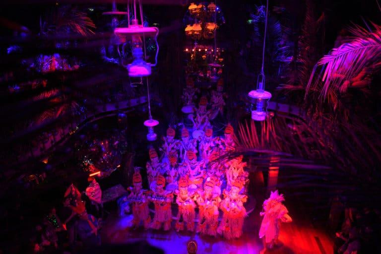 batucada percussion goodies soiree corporate amazon gafa theme jungle vegetation scenographie sur mesure amazonia winter party france agence wato we are the oracle evenementiel events