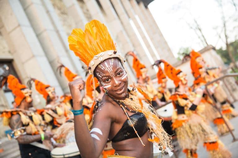 batucada tambours groupe de musique deguisements brasero palais de la porte doree the family phoenix temple theme jungle evenement sur mesure agence wato we are the oracle evenementiel events