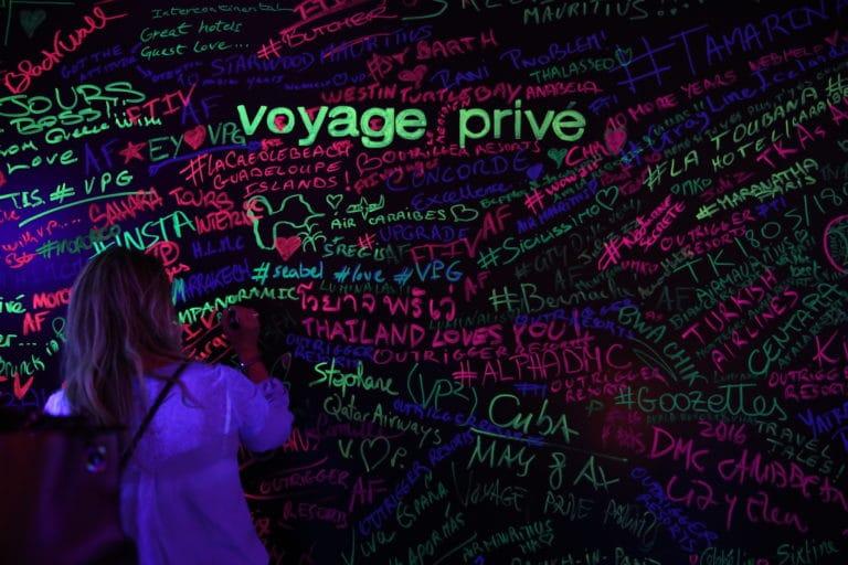 blackwall voyage privee vp grand rivage cité de la mode et du design paris France 10 ans Voyage Privé agence wato we are the oracle evenementiel event