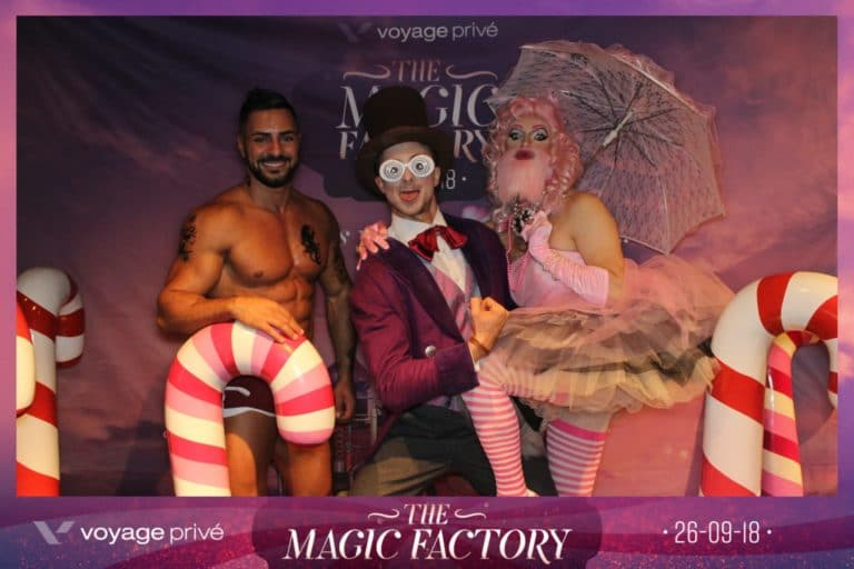 charles guilhamon ceo directeur general voyage prive vp employes photocall sucre orge soiree coporate magic factory agence wato we are the oracle evenementiel events