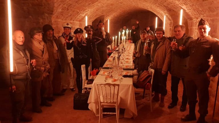 diner aux chandelles dans un fort militaire lyon france insolite evenement sur mesure diner leboncoin france agence wato we are the oracle evenementiel events