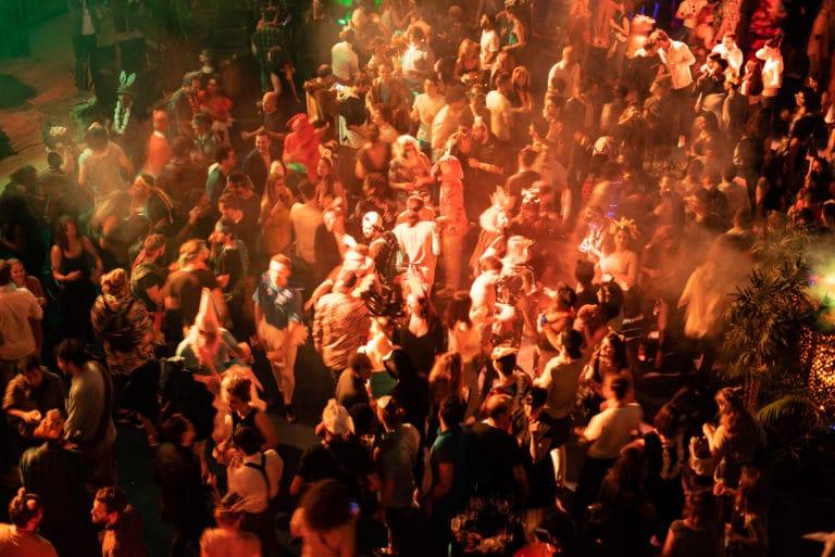 dj party fete groupe de musique dancefloor soiree dansante theme jungle palais de la porte doree the family phoenix temple evenement sur mesure agence wato we are the oracle evenementiel