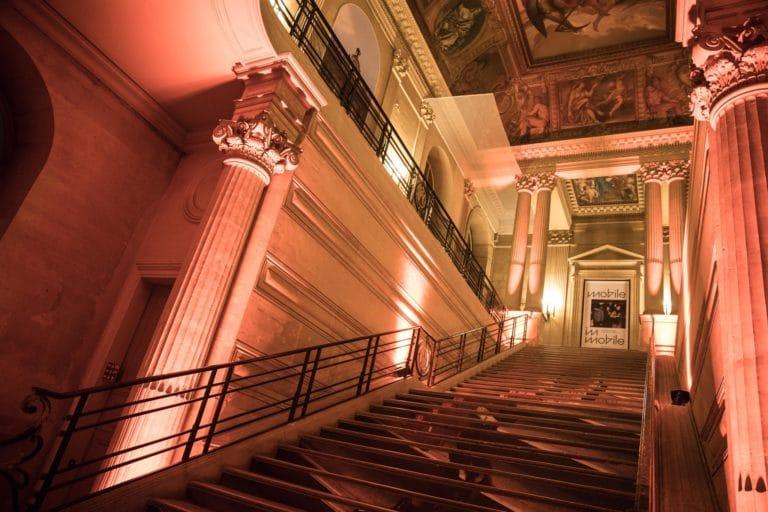 escaliers interieurs archives nationales hotel particulier de soubise paris france evenements sur mesure evenements d exception AG2R agence wato we are the oracle evenementiel