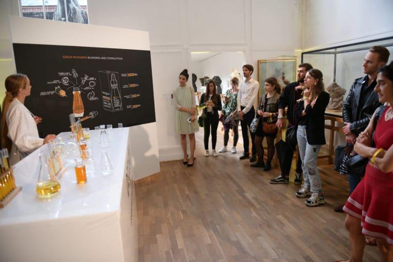 musée bourdelle essential oil skincare parcours theatrale lancement de produits huile aromessence l'oréal decléor paris france agence wato we are the oracle evenementiel event