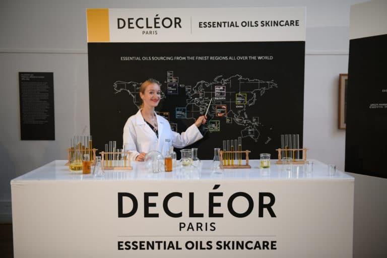 musée bourdelle essential oil skincare tube a essais lancement de produits huile aromessence l'oréal decléor paris france agence wato we are the oracle evenementiel event