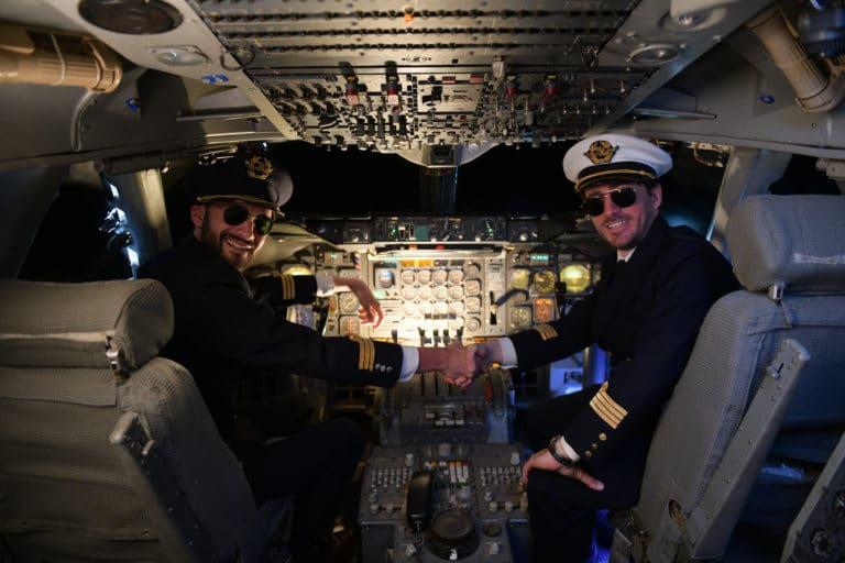 aéroport bourget foulques jubert louis marie rohr pilote de ligne air france cockpit avion boeing 747 musee de l'air et de l'espace agence wato teaser kymono we are the oracle evenementiel event