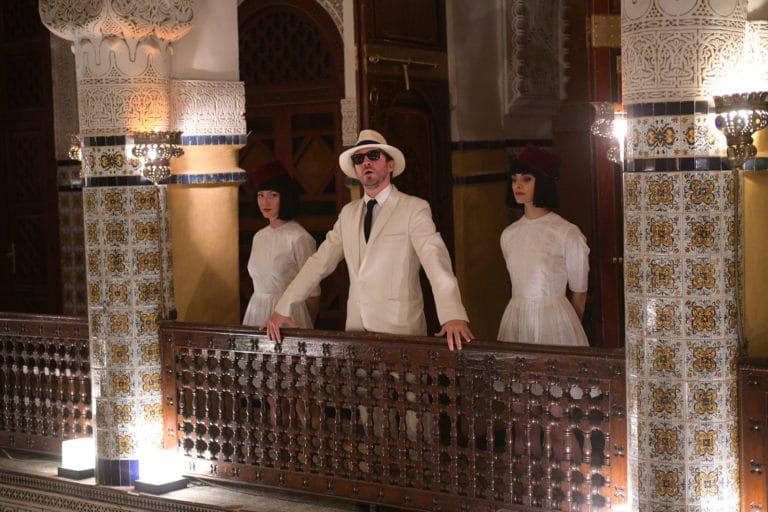 foulques jubert costume explorateurs coloniaux palais marocain marrakech maghreb scenographie sur mesure domofinance challenge agence wato we are the oracle evenementiel
