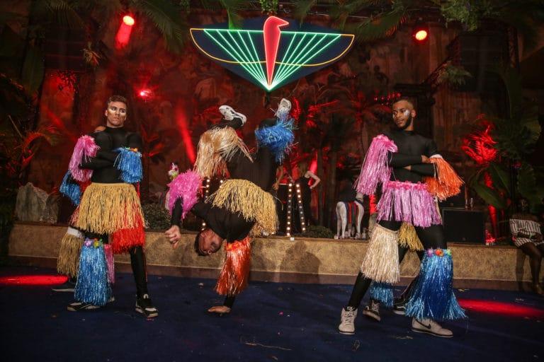 groupe hip hop performance danse dancefloor soiree dansante theme jungle logo the family phoenix temple evenement sur mesure agence wato we are the oracle evenementiel events