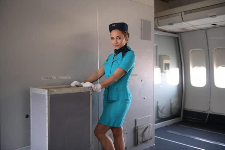 aéroport bourget hotesse de l'ai air france avion boeing 747 musee de l'air et de l'espace teaser kymono agence wato we are the oracle evenementiel events