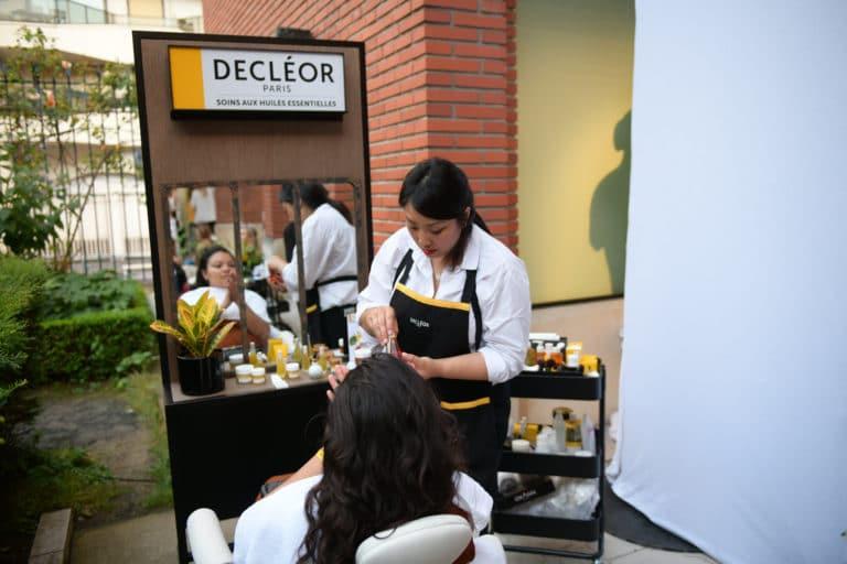 musée bourdelle huiles essentielles lancement de produits huile aromessence à la mandarine verte l'oréal decléor paris france agence wato we are the oracle evenementiel events