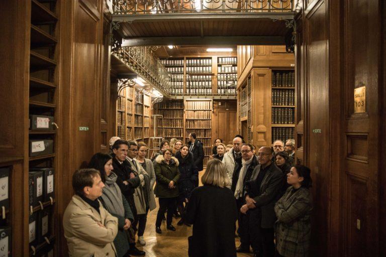 insolite visite privee archives nationales vieux livres bibliotheque hotel particulier de soubise paris france AG2R agence wato we are the oracle evenementiel events
