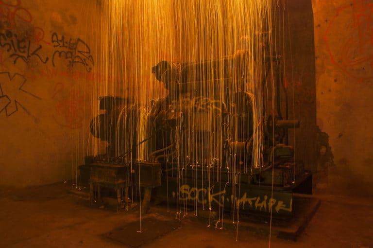 machinerie moteur insolite bunker Abri Lefebvre abri anti atomique paris 15 arrondissement France teaser Victorious Shelter agence wato we are the oracle evenementiel