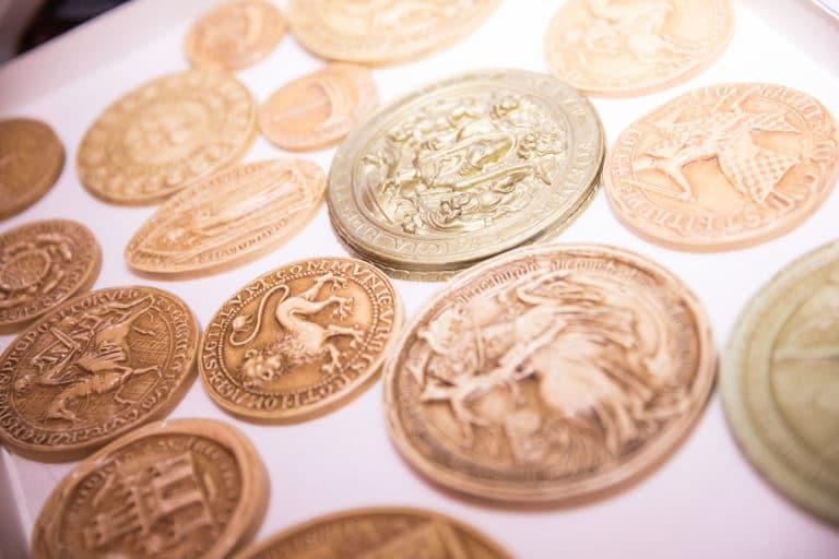 pieces de monnaies hotel particulier de soubise archives nationales paris france evenements sur mesure evenements d exception AG2R agence wato we are the oracle evenementiel