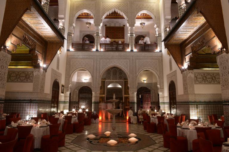 privatisation palais marocain exceptionnel somptueux marrakech maghreb scenographie sur mesure domofinance challenge agence wato we are the oracle evenementiel