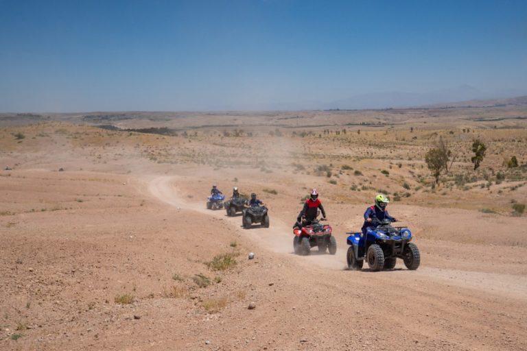quads location desert marocain team building voyage soleil marrakech maroc maghreb evenement sur mesure domofinance challenge agence wato we are the oracle evenementiel